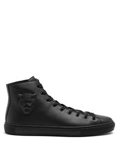 5258a574f0a GUCCI Major High-Top Leather Trainers.  gucci  shoes  sneakers
