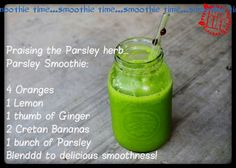 Smoothy time!
