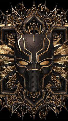 Black Panther Marvel, Black Panther Art, Hero Marvel, Marvel Art, Deadpool Wallpaper, Avengers Wallpaper, Wallpaper Bonitos, Black Panther Chadwick Boseman, Black Comics