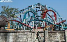 Dragon Challenge (Chinese Fireball):  Islands of Adventure - Orlando Florida