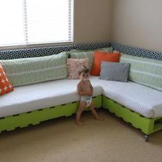 DIY kids bed