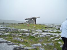 A cairn in the Burren, Ireland -- druid dohlman...very mystical to be there...very holy feeling...