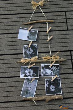 DIY: Bilderrahmen mit Naturmaterialien basteln - Handmade Kultur …