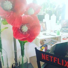 #Netflix hat die Deko schön beim #beatbugs Event .