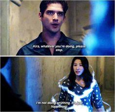 "#Teen Wolf Season 5 Episode 5 ""A Noval Approach"" Scott McCall and Kiera Yukimura"