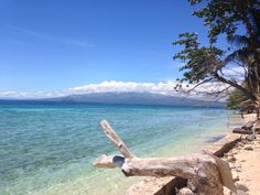 Kibila Beach Resort in Guinsiliban with Mindanao as background.