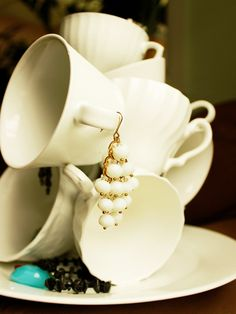 teacup sculpture - I want to make this so badly!!!!