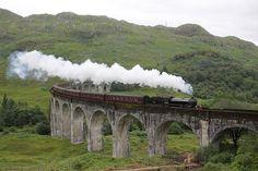 Auf den Spuren von Harry Potter: die Bahn The Jacobite diente in den Verfilmungen als Hogwarts Express