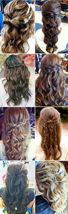 Wedding hair style, which one do you like?