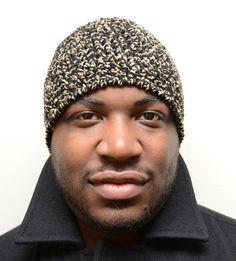 crochet pattern - men's skull cap