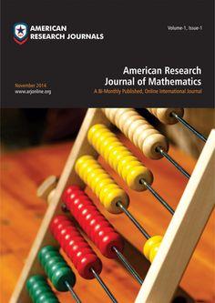 American Research Journal of Mathematics
