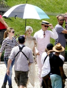 Set photos from The Great Gatsby... Oh my, that dress!!!!