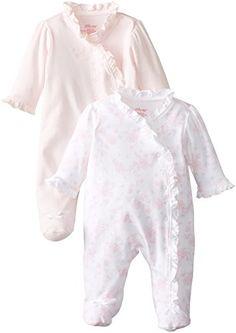 Little Me Baby-Girls Newborn Sweet 2 Pack Footie, White/Pink, 9 Months Little Me http://www.amazon.com/dp/B00O9OGTKI/ref=cm_sw_r_pi_dp_kIa6ub1J3DAYM