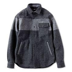 Kazuki Kuraishi wool shirt jacket