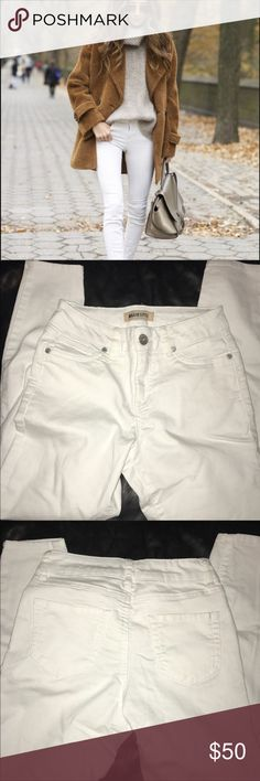 BLUE SPICE WHITE SKINNY JEANS Perfect condition, fit wonderfully! Super duper white  💖Five star seller!  ❤️Same day shipping!  💛Feel free to ask questions! 💚Make an offer! 💙Bundle and I'll shoot you an offer! 💜Discounts for bundles! 🖤Free stickers/gifts with every purchase! LF Pants Skinny