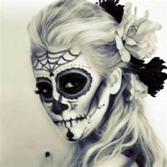 day of the dead makeup ideas - Bing Images    D, let's have this kind of party next year!