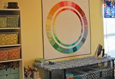 Colorist wheel by Hyacinth Quilt Designs