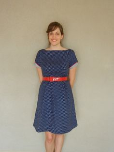 yay! my Peony dress and I are on this week's Featured Seamstress at Colette Patterns' blog :)