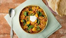 With red lentils and orange pumpkin, this dahl will leave you feeling as bright as it looks - wyza.com.au