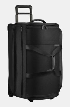Briggs & Riley 'Medium Baseline' Rolling Duffel Bag - Black