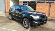Range Rover Sport with a full colour code. We can customize your vehicle with single, two-tone or pearl paint.