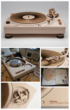 Handmade Wooden Technics 1210 Replica...