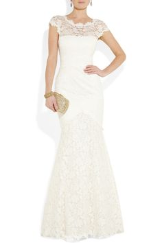 Temperley London | lace gown