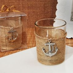 Nautical Charm Rustic Candle Holder Favor (Cassiani Collection 1152)   Buy at Wedding Favors Unlimited (http://www.weddingfavorsunlimited.com/nautical_charm_rustic_candle_holder_favor.html).