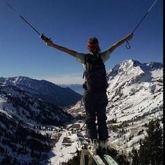 Our mountains. They rule. #free #internationalmountainday #snowbird #wasatch #lcc