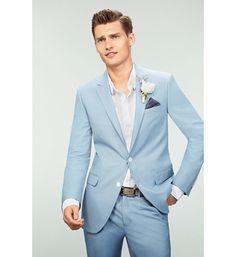 trajes de lino azul - Buscar con Google