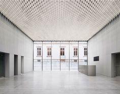 A Monolith Full of Art for Bündner Kunstmuseum in Chur, Switzerland   Yatzer