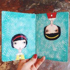 Sketchbook by Gretchen Schroeder