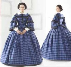 Day Dress - 1861 Girl's School