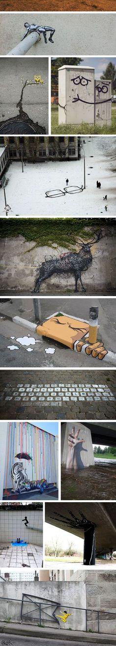 Cuidado, no te metas con las calles de la creatividad. Una vez que entras, no sales.