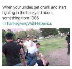 Thanksgiving with Hispanics