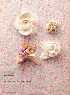 Out-of-print Fashionable Corsage 100 Japanese от MeMeCraftwork