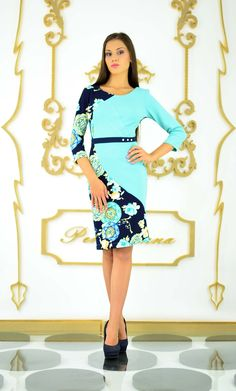Turquoise dress Turquoise Dress, My Design, Cold Shoulder Dress, How To Wear, Dresses, Fashion, Templates, Vestidos, Moda