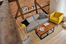 Wnętrza Zewnętrza: [Polska] Mieszkanie na poddaszu