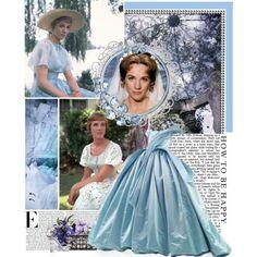 3. Julie Andrews as Cinderella, created by ingrid on Polyvore,