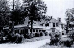 #TavernThursday Jack Brown's Tavern, 1937 . Photo taken from Lake Ronkonkoma By Keith Oswald, Dale Spencer. I learned at the #EastIslip Historical Society last night that this tavern remained open and was never shut down during prohibition. #history