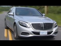 2014 Mercedes S 500 on the road