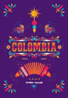 Sound and Colours Colombia by Russel John Slater, available at Book Depository with free delivery worldwide. South American Music, Colombian Culture, Culture Day, Arte Popular, Graphic Design Inspiration, Brand Inspiration, Design Reference, The Dreamers, Coloring Books
