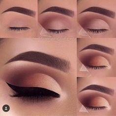 "219 Likes, 4 Comments - Make Up Tutorials - Divulgação (@makeuptutorialsbr) on Instagram: ""Make du Jour ❤️ #makeupvideos #eyelinertutorial #eyeliner #makeuptutorial #mua #makeupgeek…"""