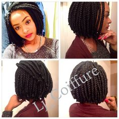 Crochet Box Braids Canada : ? LJ? Coiffure @lj_coiffure Instagram photos Websta