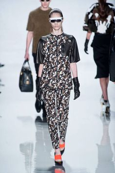 camo at Michael Kors Fall 2013 runway #NYFW