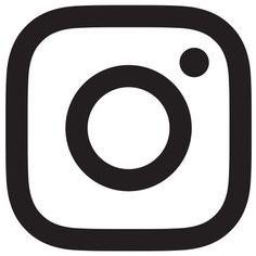 Schwarzes weißes Instagram Logo Transparent Icon  instagram logo transparent