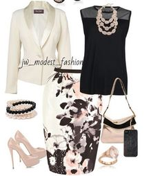 Black, Cream, Blush...classic!