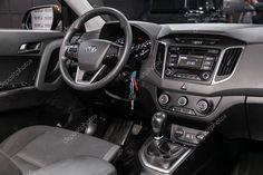 Novosibirsk Russia August 2019 Hyundai Creta Black Luxury Car Interior Affiliate Hyundai August Novosibirsk Russia Ad