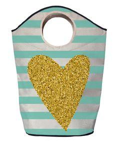 Gold Heart Hamper by Butter Kings #zulily #zulilyfinds