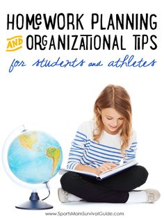 GREAT Homework Planning and Organizational Tips for Students and Athletes...PLUS enter for a chance to win $500 cash!!!